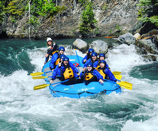 White Wolf Rafting, located in Canmore, Alberta