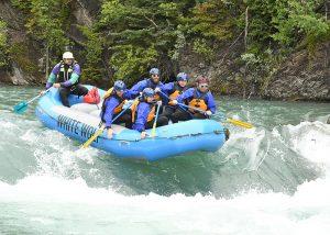 Horseshoe Canyon Adventure White Water Rafting Tour - White Wolf Rafting - Canmore, Alberta