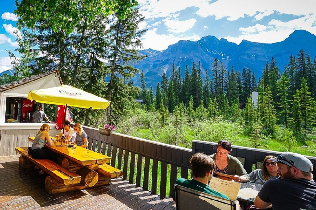 White Wolf Rafting, Canmore - Best Patios